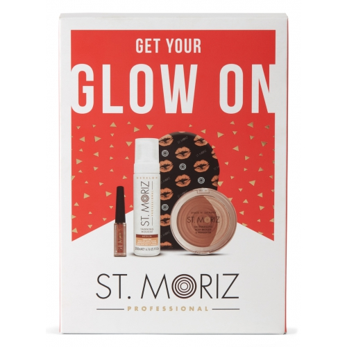 St. Moriz Get Your Glow On - Dárkový set